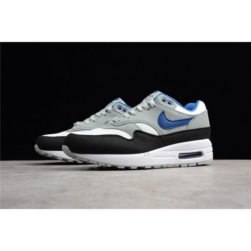 Men S Nike Air Max 1 Gym Blue White Gym Blue Light Pumice